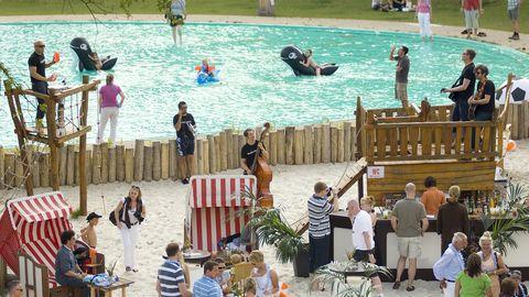 Beach Hamburg - Up to 1000 persons