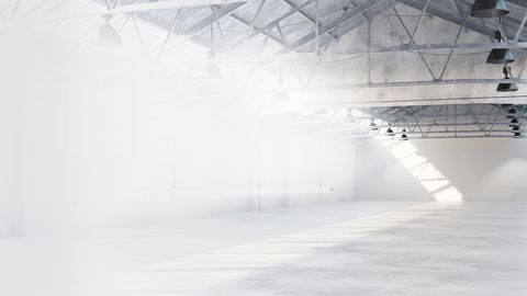Atmospheric event hall in Hannover