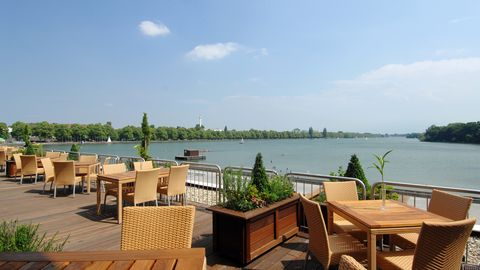 Event-Terrasse Courtyard by Marriott Hannover Maschsee - Up to 100 persons